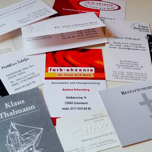 Allg Visitenkarten Marina Warncke Konzept Design